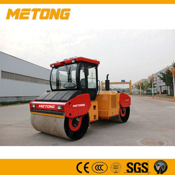 China Manufacture Metong Fully hydraulic double drum vibratory roller