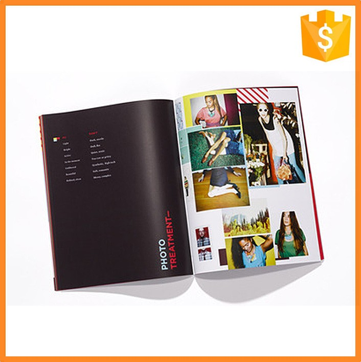 SGS Certification Custom Fashion Design Famous Hair Catalogs Book