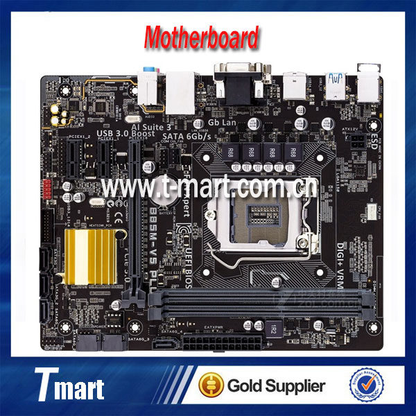 100% Working Desktop Motherboard for ASUS B85M-V5 PLUS LGA1150 DDR3 Fully tested Working perfect
