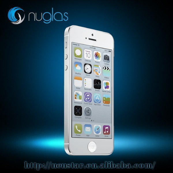 NUGLAS new top sell screen protector for iphonre 5