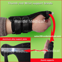 Adjustable Orthopedic wrist support with 3 straps
