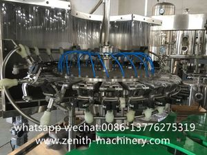 3 In 1 Carbonated Filling Machine Soft Drink Brands