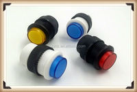 Push speaker switch / no foot switch / self lock speaker switch / electric appliance special transparent key switch