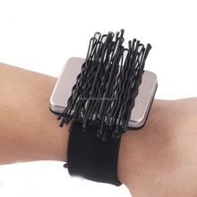 2016 Hot selling Hairdressing magnetic bobby pin bracelet
