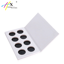 Wholesale white cardboard eyeshadow palette packaging