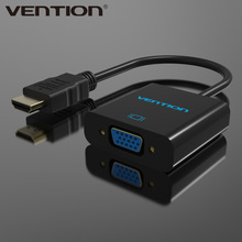 Vention Support 3D 1080P HDMI To VGA Converter Adapter Cable For PC HDTV