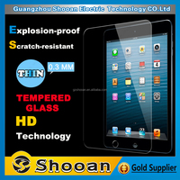competitive price 2.5d anti-fingerprint tempered glass screen protector for ipad mini
