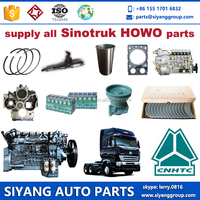 Supply original and aftermarket all Sinotruk Howo spare parts