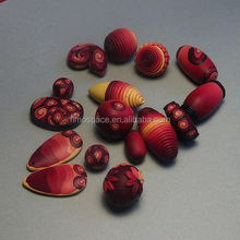 Fruit Flower Fimo Loose Bead Ploymer Clay Beads