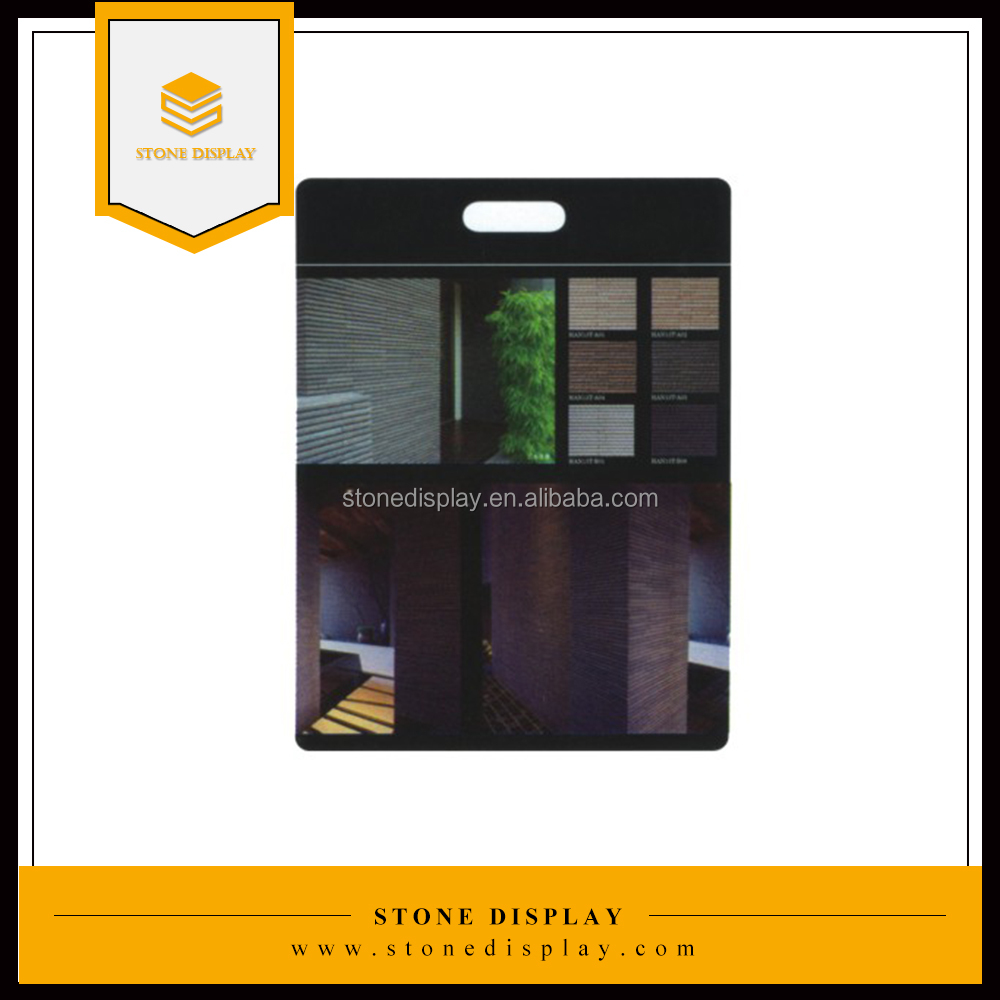 MDF stone tile sample display board/hand board