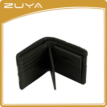 Low MOQ High Quality men wallet manufacturer sample free