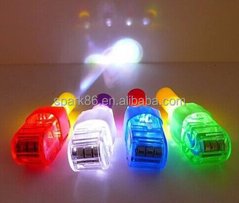 multi function RGB color change led finger light led RGB finger light