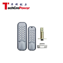 High quality Mechanical push button pin code door lock with keypad