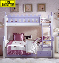 Cheap wooden adult bunk beds for home