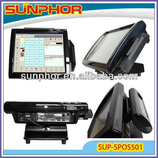 all in one touch screen pos for Win XP/98/2000/7/NT/Me/Vista/Linux