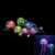 Glowing Effect Silicone Mini Size Artificial Jellyfish for Fish Tank Aquarium Decoration Accessories