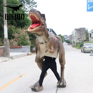 Hot sale dinosaur mascot costumes for welcome