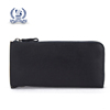 black genuine leather man japanese wallet with coin