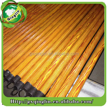 Hot sale and high quality Pvc Coated Wooden Broomsticks for cleaning tools
