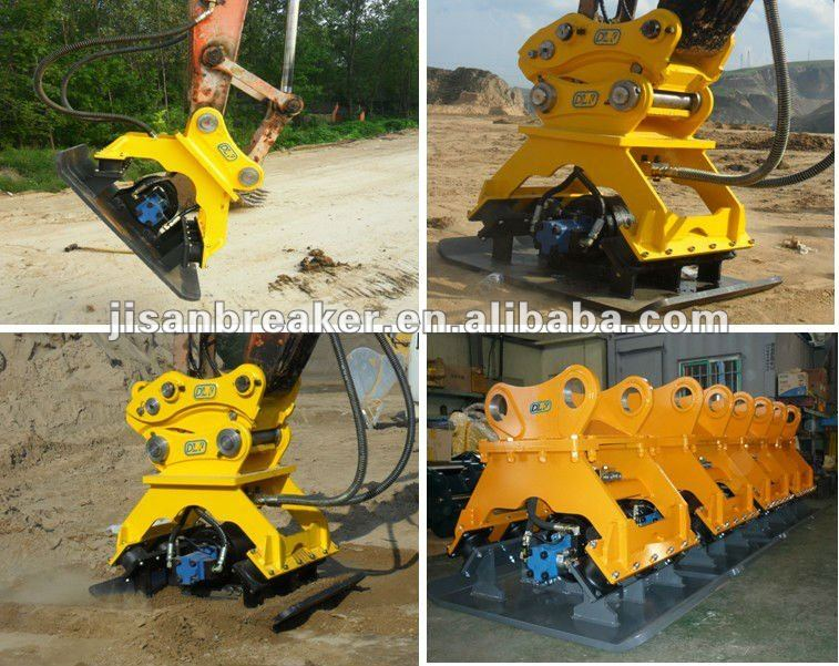 road plate compactor for all kinds excavators 17-25 tons excavator