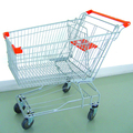 125L Aisa shopping push cart with baby seat for middle East