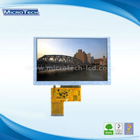 A Style 5.0 inch high resolution TFT LCD screen panel with touch panel