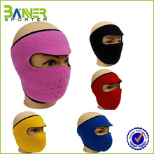 Low price windproof warm face mask,winter ski face mask hats,full face mask hat