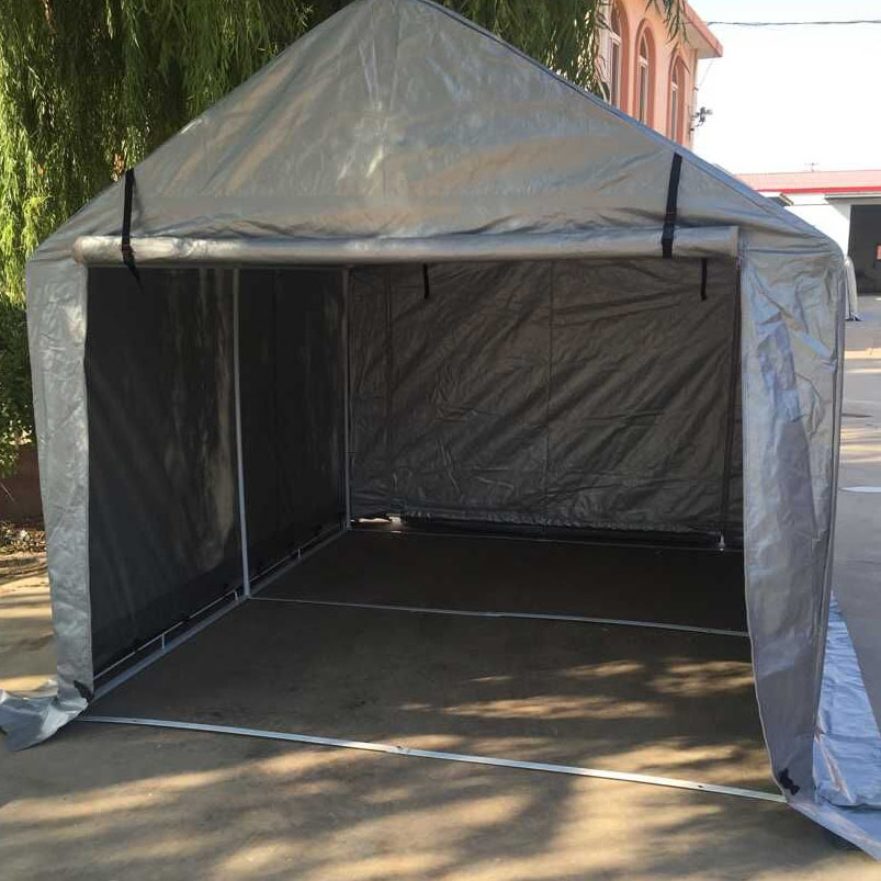 Vehicle Storage Tents : M middle steel frame storage tent car shelter