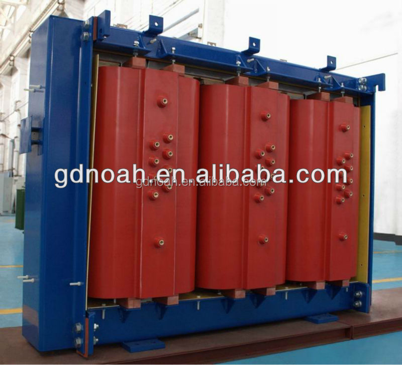 500kva amorphous transformer core epoxy cast resin power transformer