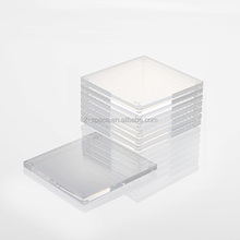 laser cut 8-pack acrylic perspex square coasters wholesale