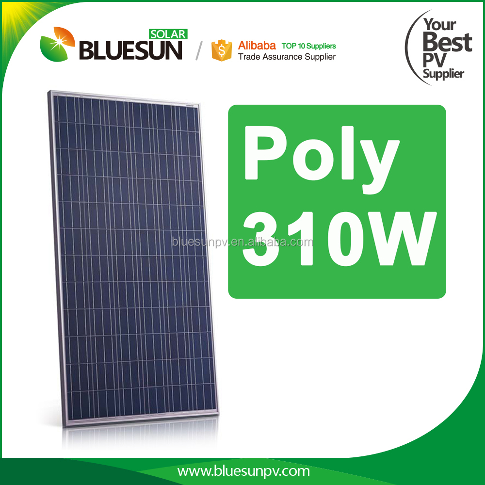 320w panel solar price per watt yingli solar panel poly 320w from Bluesun