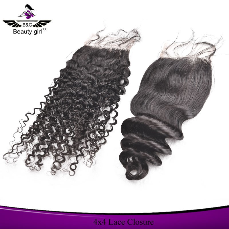 wholesale cheap brazilian remy human hair free part full top lace front closure piece