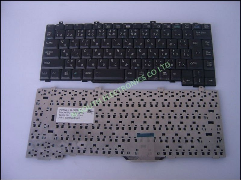 Black JP Japanese Laptop keyborad for lenvov a815