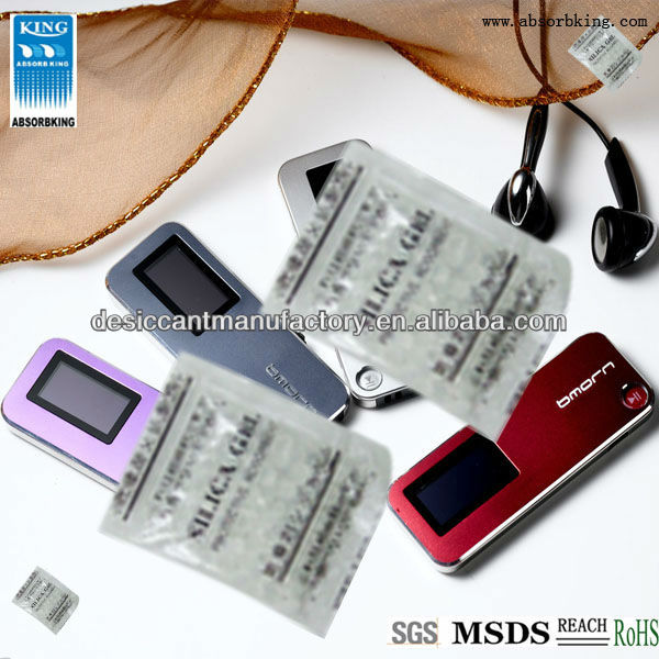 desiccant air dryer/silica gel desiccant for MP3 screen