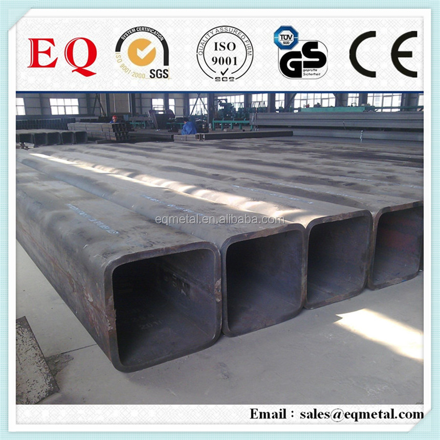 wall steel tube square steel tube sizes galvanized steel water pipe