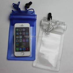 Multi-color PVC mobile phone waterproof bag, swimming, fishing, drifting/waterproof dry bag