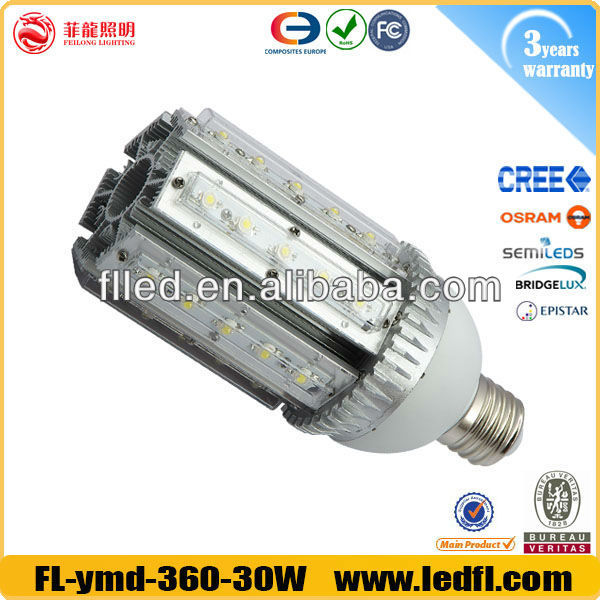 led 30w corn light E39 E40 base garden light bare bulbs 6000K