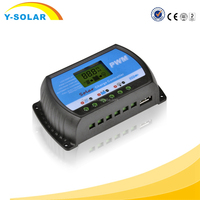 Y-SOLAR 2015 new products PWM 30A LCD Display Solar Charge Controller 12V 24V with USB 5V charging
