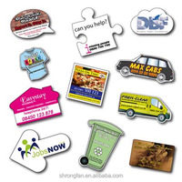 Promotional fridge magnets shaped flexible fridge magnets