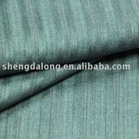 SDL1002210 Gray Color Stripe For pants Viscose Poly Fabric