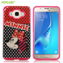Lastest design anti-scratch Customized Color PC+SILICONE mobile phone case for samsung J5