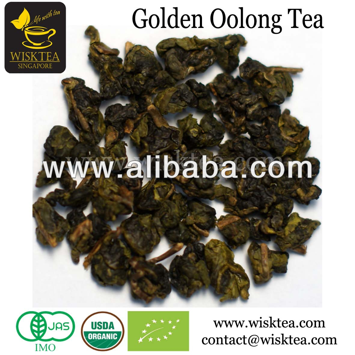 Certified Organic Premium Oolong Tea