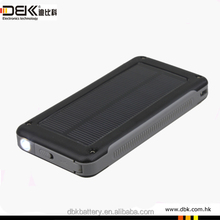 6600mah advanced power bank solar <strong>portable</strong> for laptop tablet mobile phone