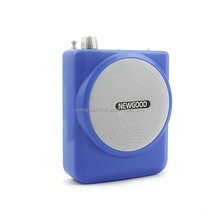 Wired Wireless with FM radio USB TF card play music mini Portable Voice Amplifier for teachers