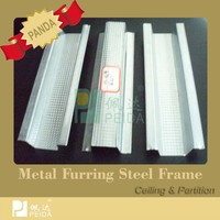 Metal Ceiling Track Galvanized Metal Profile Guangzhou