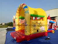 Funny Cartoon Small Mini Bouncy Indoor Or Outdoor Bouncy For Kids