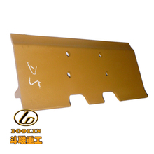 Supply types of Bulldozer Parts Dealer Yellow swamp track shoe for bulldozer shantui with cheapest price