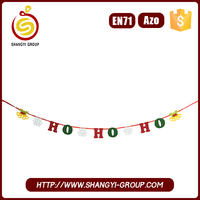 Merry christmas garland decorations for home