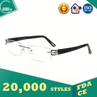 Aluminum Eyeglass Frames, flannel jewelry pouch, iris color contact lens