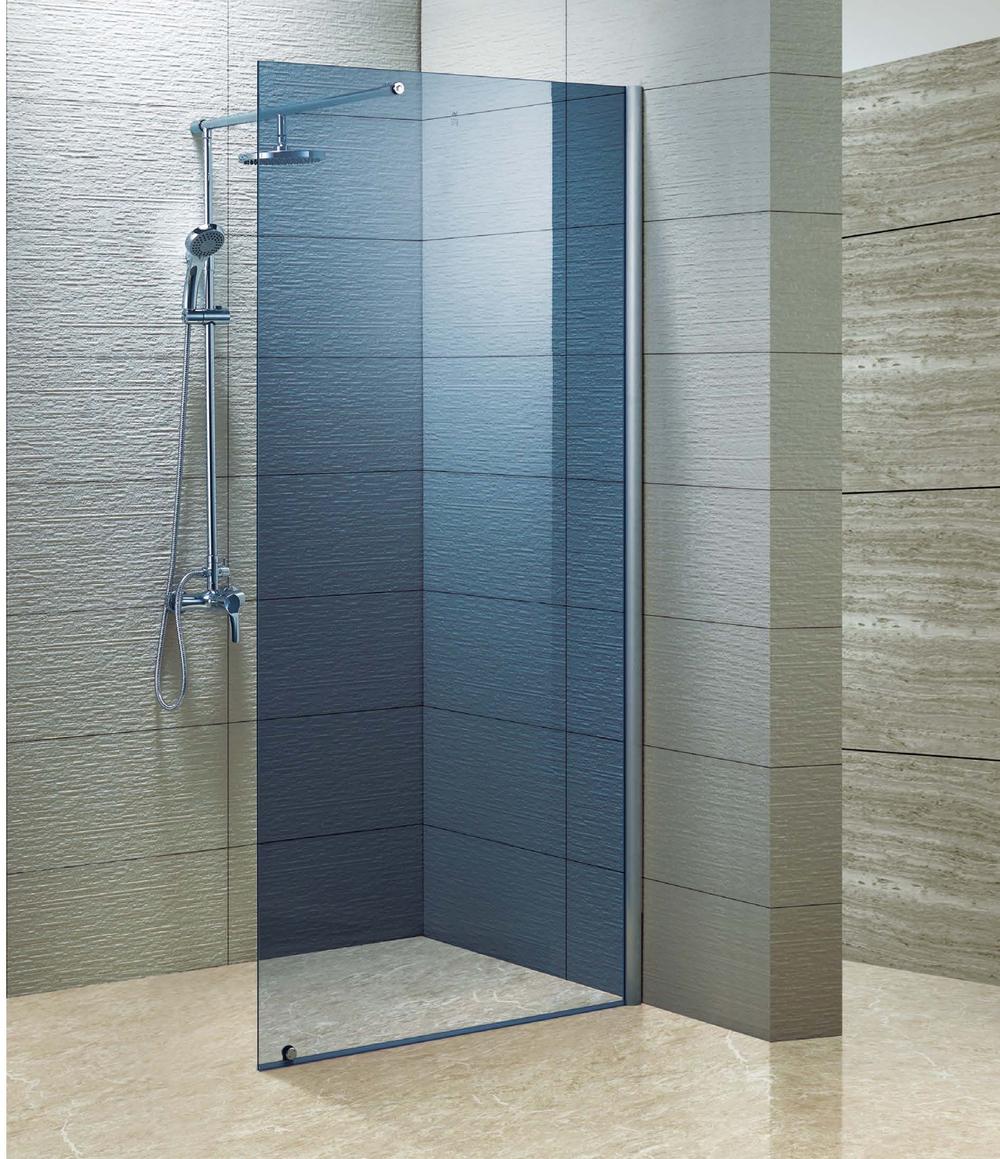 Frameless Walk-in Shower Screen (kd8006) - Buy Frameless Walk-in ...